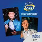 Parabéns Paulo Neto novo aluno da USP